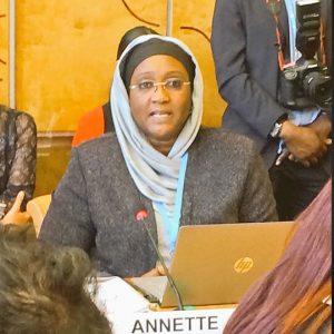 Docteur Annette Seck Ndiaye